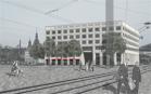 Fassadengestaltung Postplatz Dresden