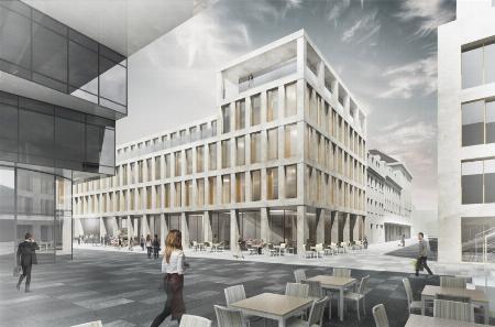 Commercial building Ostwall - Petersstraße Krefeld